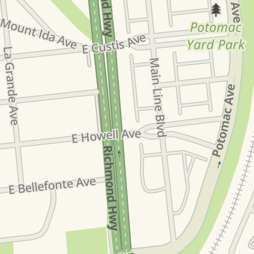 2486e1d899 Waze Livemap - Driving Directions to Target - Potomac Yard ...
