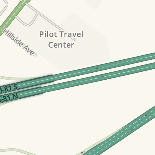 Waze Livemap - Driving Directions to Wendy's, Pittston Township ...