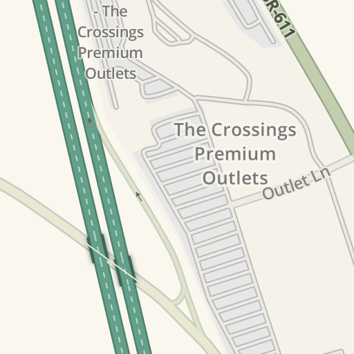 96356cfe35b2 Waze Livemap - Driving Directions to Adidas Factory Outlet