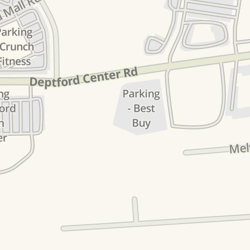 Waze Livemap - Driving Directions to Deptford Mall, Deptford, United on
