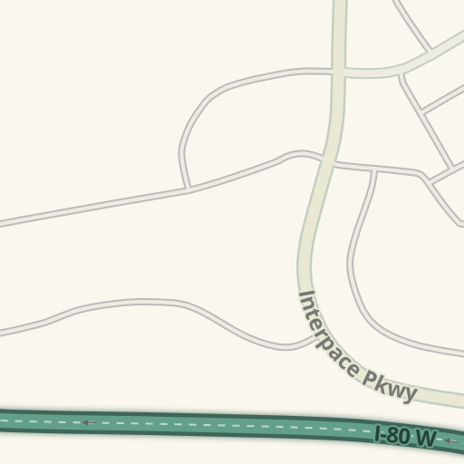 Waze Livemap - Driving Directions to 300 Interpace Parkway