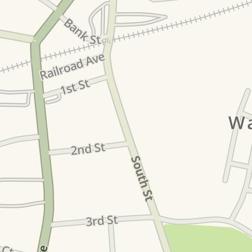 Waze Livemap Driving Directions To Warwick New York Warwick