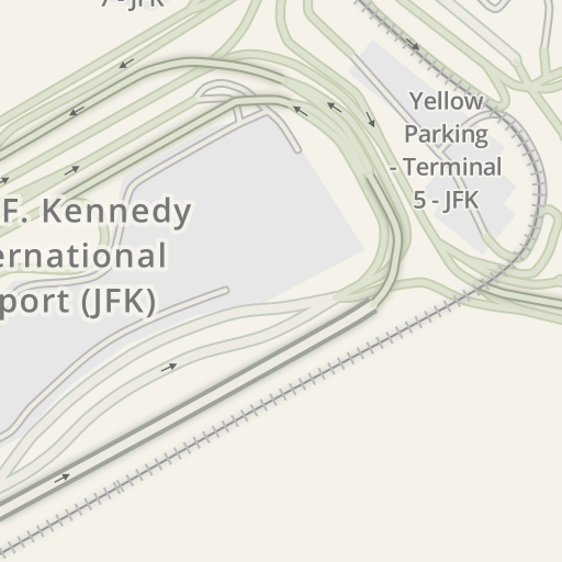 Waze Livemap - Driving Directions to Orange Parking - JFK Terminal 7 ...