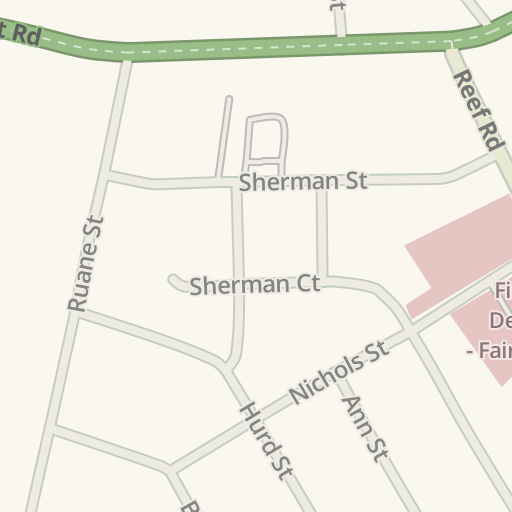 Waze Livemap Driving Directions To Beach Bum Tanning Fairfield