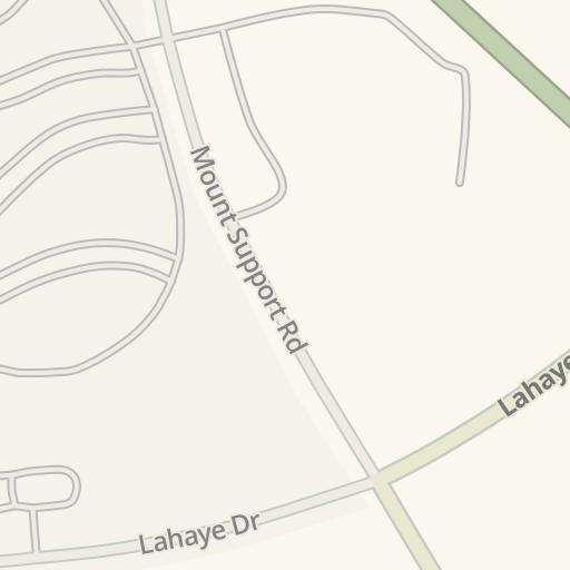 Waze Livemap - Driving Directions to Faulkner Parking Garage - DHMC on