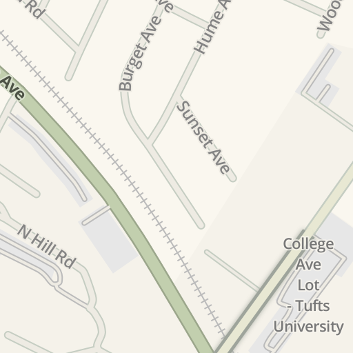 Tufts Medford Campus Map.Waze Livemap Driving Directions To Breed Memorial Hall Tufts