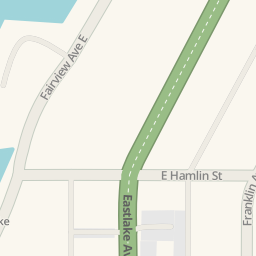 Driving directions to 2815 Eastlake Ave E Seattle United States