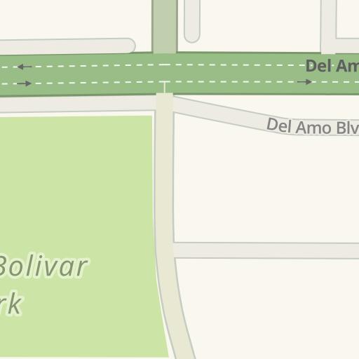 Driving Directions To Simon Bolivar Park 3300 Del Amo Blvd Lakewood Waze