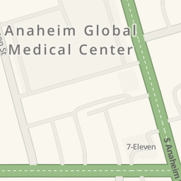 Waze Livemap - Driving Directions to AAA Electric Motor, Anaheim, United States