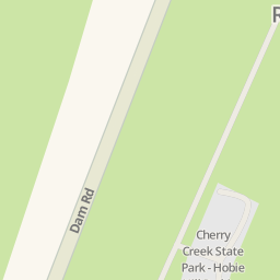 Driving directions to Cherry Creek State Park Hobie Hill Parking