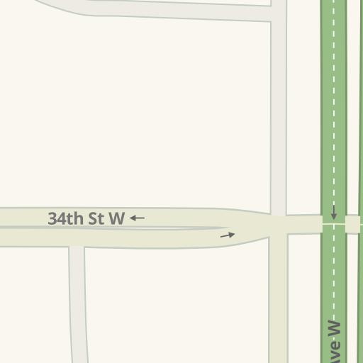 Driving Directions To Grand Williston Hotel 35th St W 3601 Williston Waze