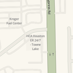 Driving directions to North Cypress Emergency Room and Imaging ...