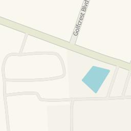 Driving directions to Barnett Stadium Houston United States