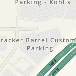 Driving Directions To Cracker Barrel Old Country Store - Cracker barrel us map