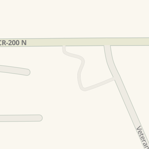 Country Chevrolet N State St 1845 North Vernon 로의 운전 경로 Waze