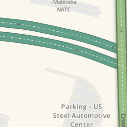 Driving Directions To US Steel Automotive Center Troy United - Us steel maps