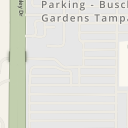 Driving Directions To Busch Gardens Tampa   Parking, Tampa, United States    Waze Maps