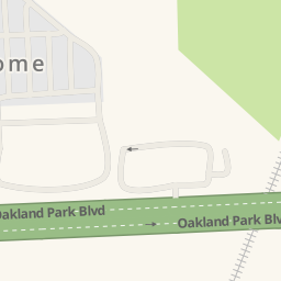 Driving Directions To Home Depot Oakland Park United States